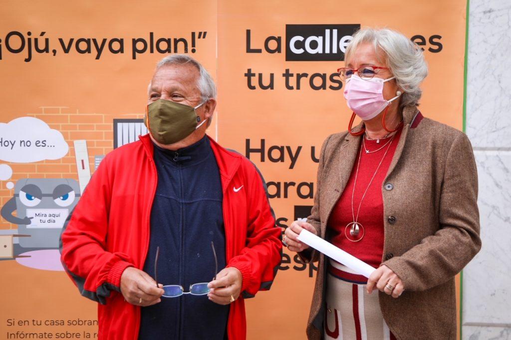 Teresa Porras campaña reciclado muebles